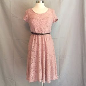 Baby girl pink maternity dress